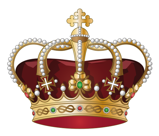 banner transparent stock Crown transparent showing post. King throne clipart