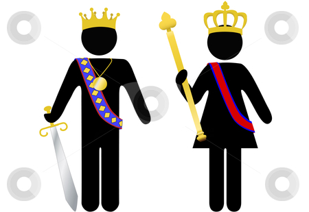image transparent Monarch clipart viking king. And queen crowns .
