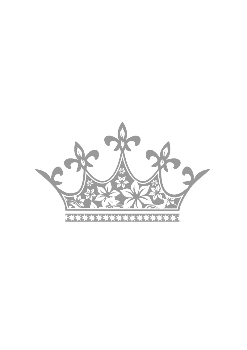 clip art black and white Transparent free for . Mr clipart crowning