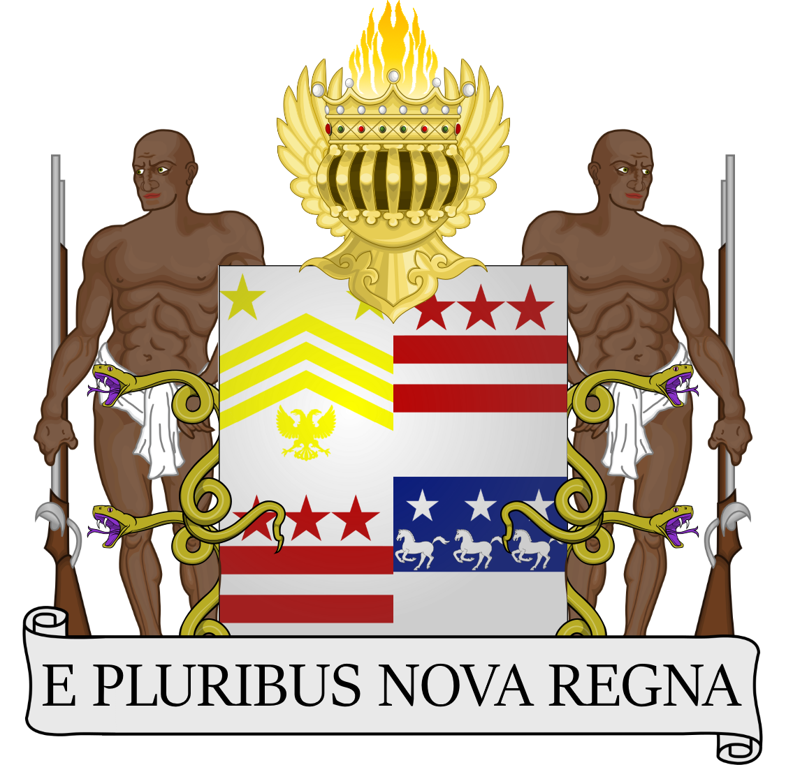 banner Mr clipart monarchy. Coat of arms king.