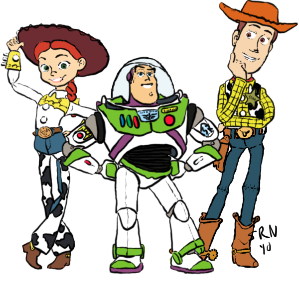 png transparent Buzz Lightyear And Woody Drawing at GetDrawings