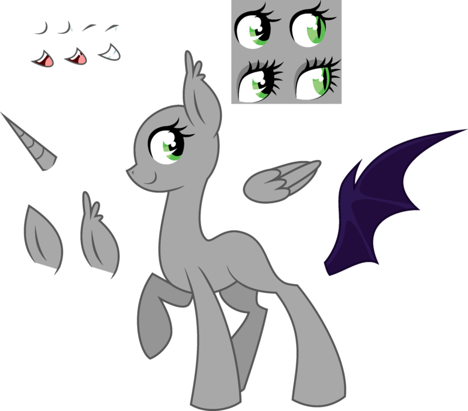 clip transparent stock mlp earth pony
