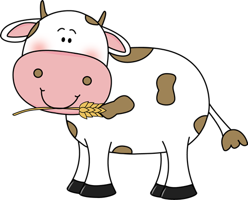 vector black and white library Mud clipart cute. Cow clip art images.