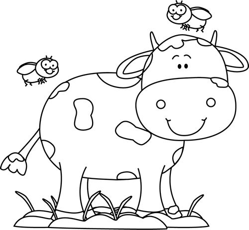 jpg library Mud clipart cute. Cow clip art images.