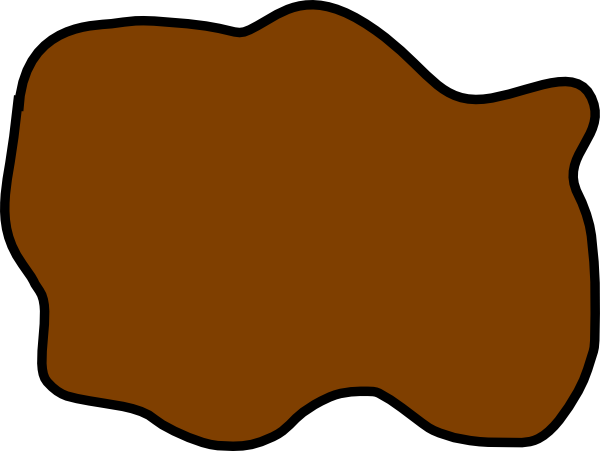 clip free download Brown Mud Puddle Clip Art at Clker