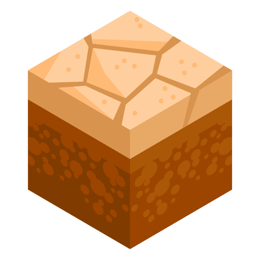 image free library Dry soil isometric landscape