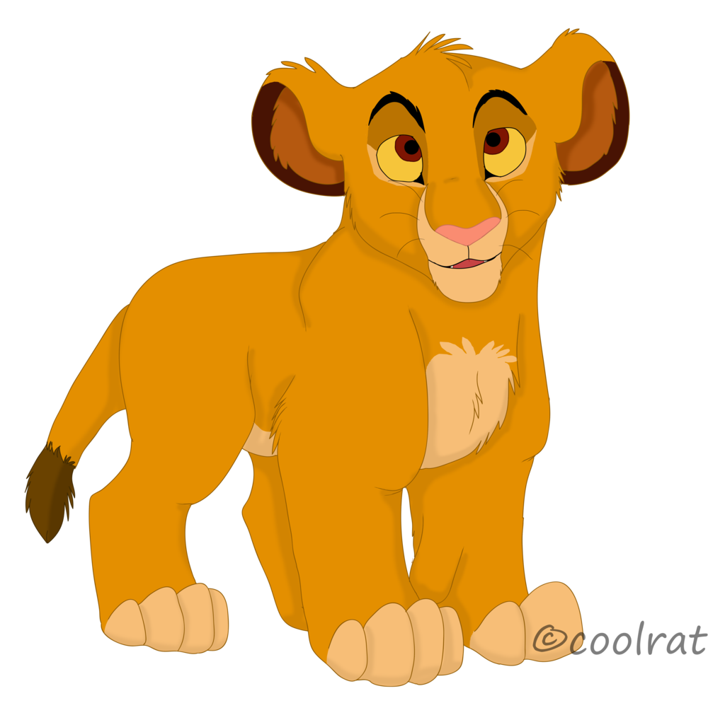 clip freeuse stock Collection of free Simba drawing