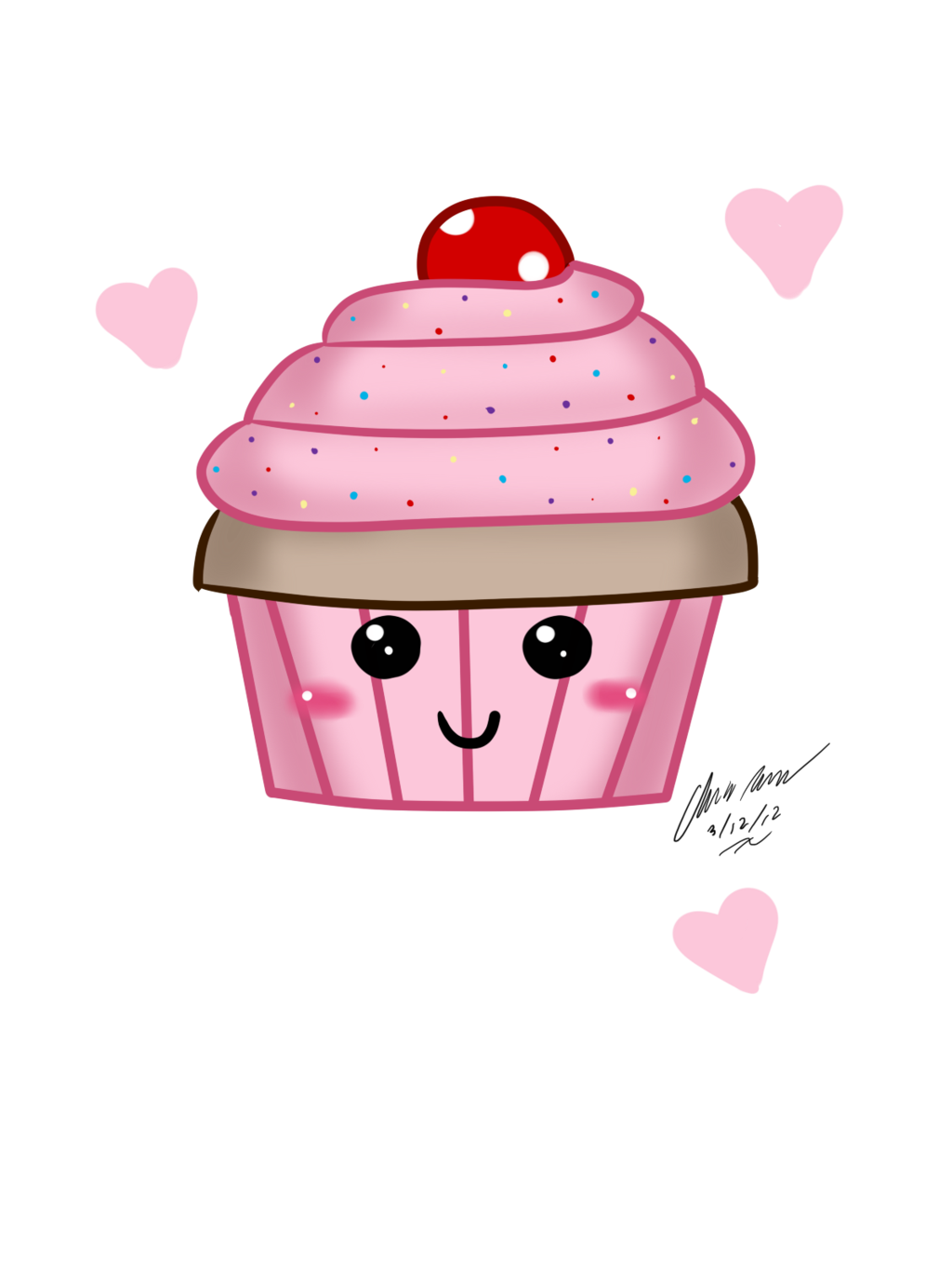 graphic freeuse download Drawn Muffin adorable
