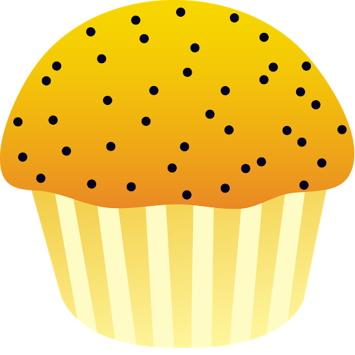 picture freeuse download Google . Muffin clipart poppy seed.