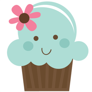 graphic stock Cute free on dumielauxepices. Muffin clipart turquoise.