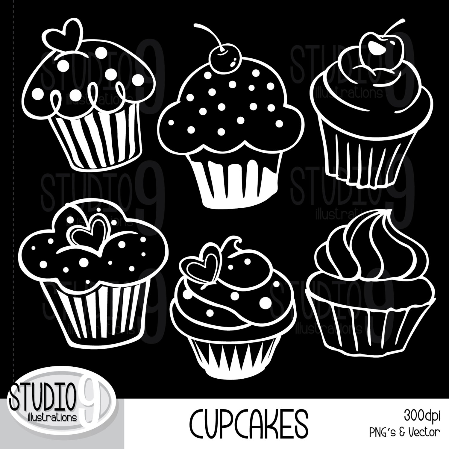 jpg royalty free library Free cake cliparts download. Muffins clipart chalkboard.