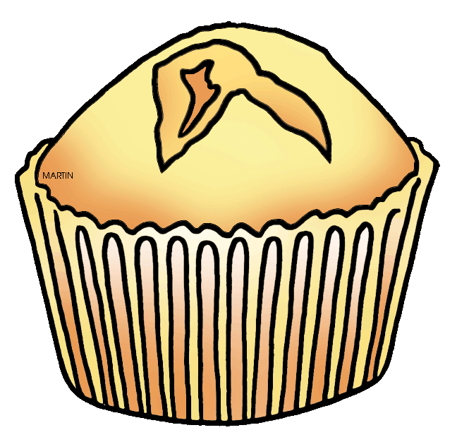 clip freeuse stock Muffins clipart mini cupcake. Muffin yellow free on.