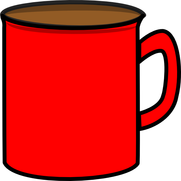 clip library Mug clipart. Red clip art at.