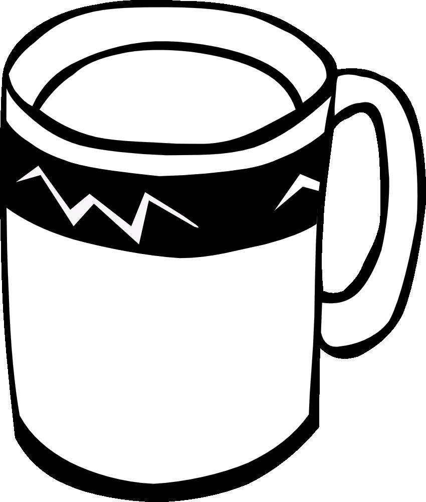 png transparent download Mug . Soda clipart black and white