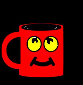 clip art royalty free Red clip art at. Mug clipart.