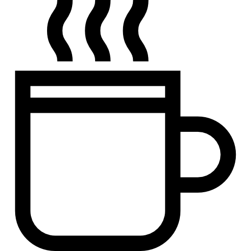 svg freeuse stock Tea cup clipart black and white. Mug icon png svg