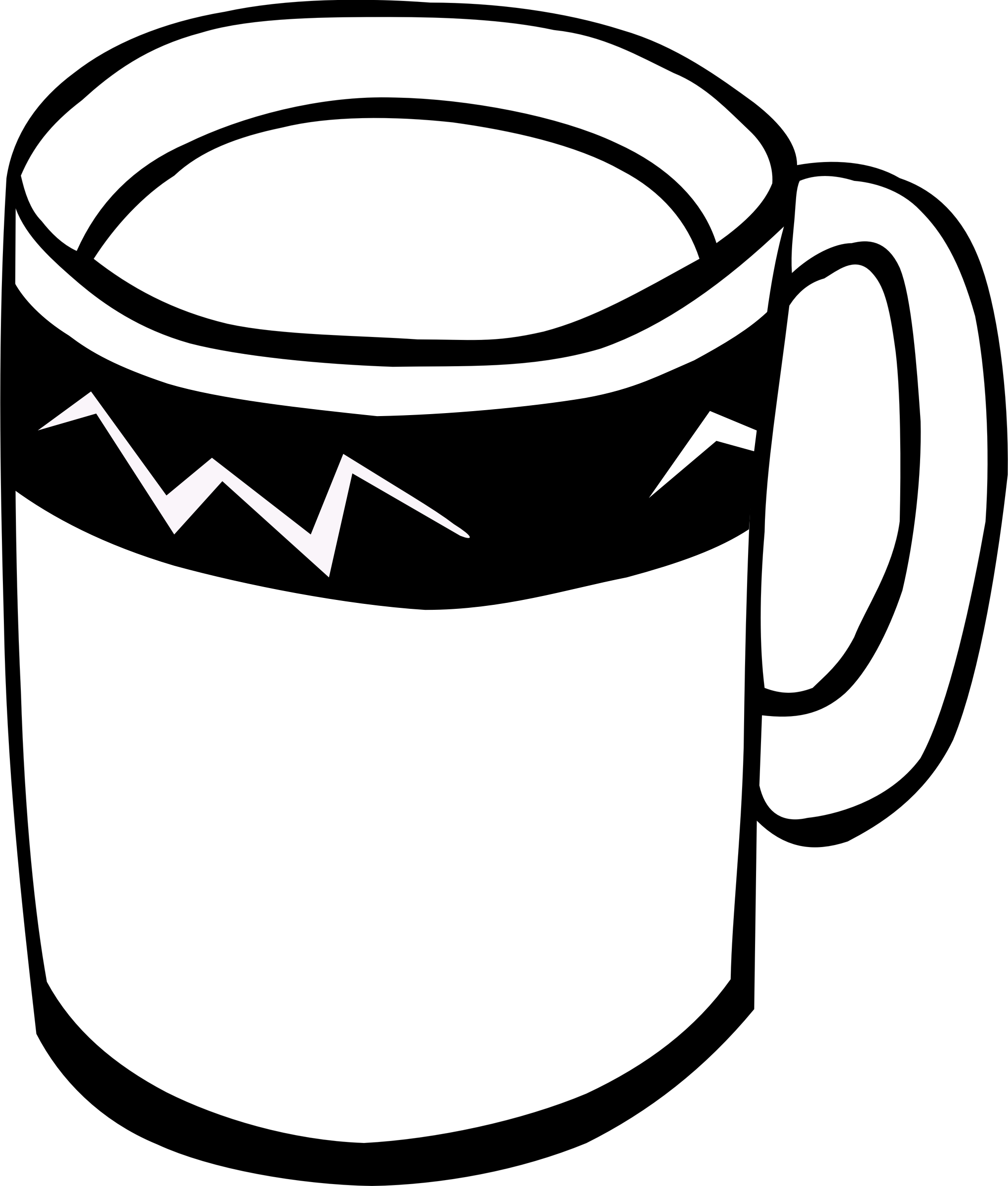 svg royalty free stock Mug clipart colouring page. Fast food drinks coffee.