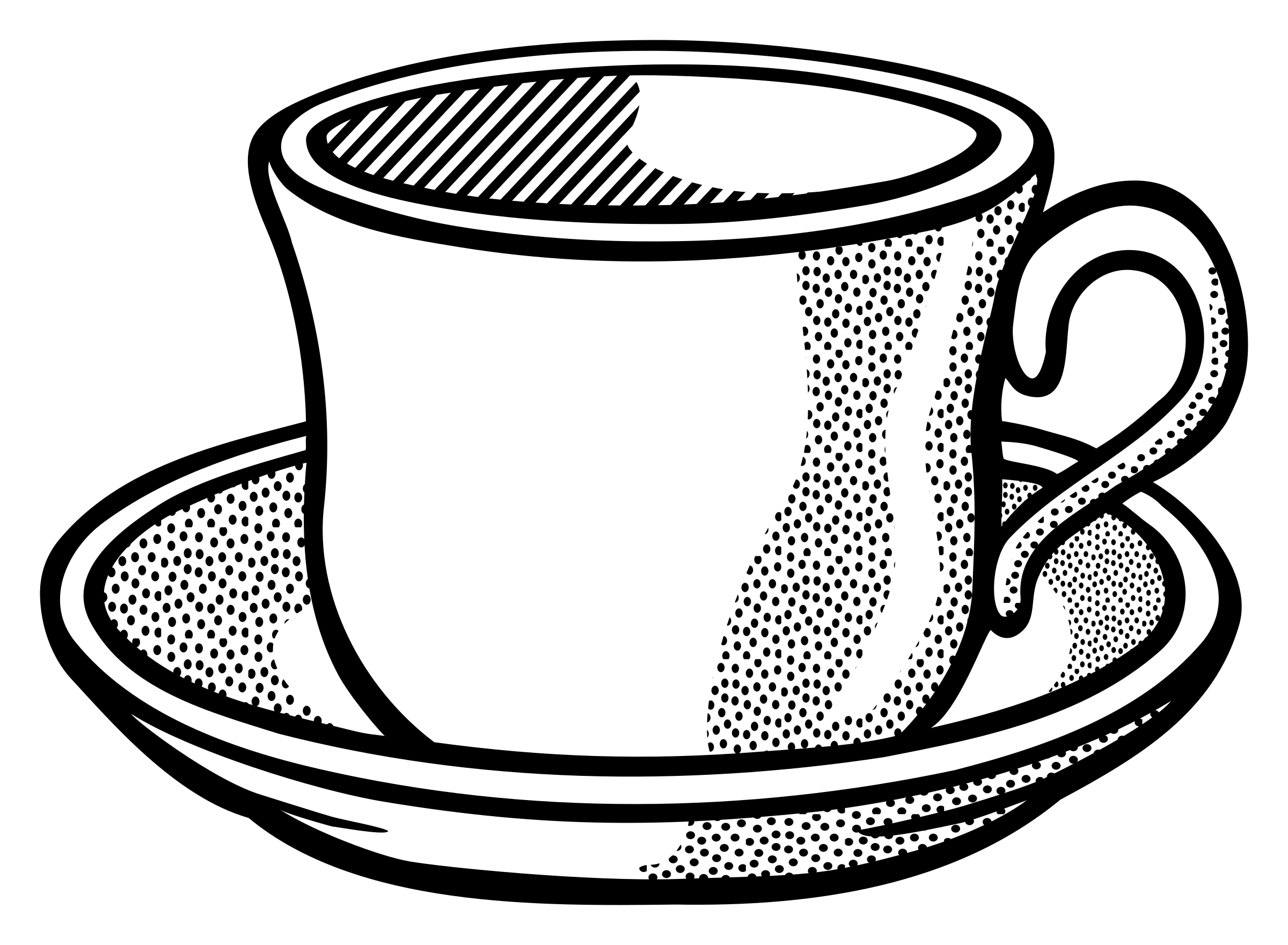 download Mug clipart line art. Cup lineart by frankes.
