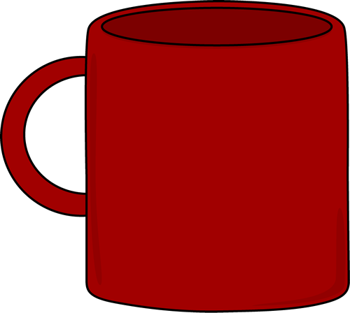 clip art free Free clipart coffee cup. Liquid red mug on