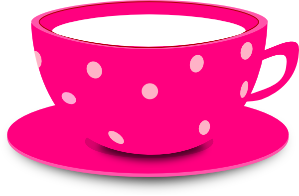 banner freeuse stock Teacup clipart images. Pink coffee mug