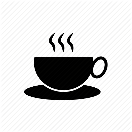 graphic free Hot Tea PNG Black And White Transparent Hot Tea Black And White