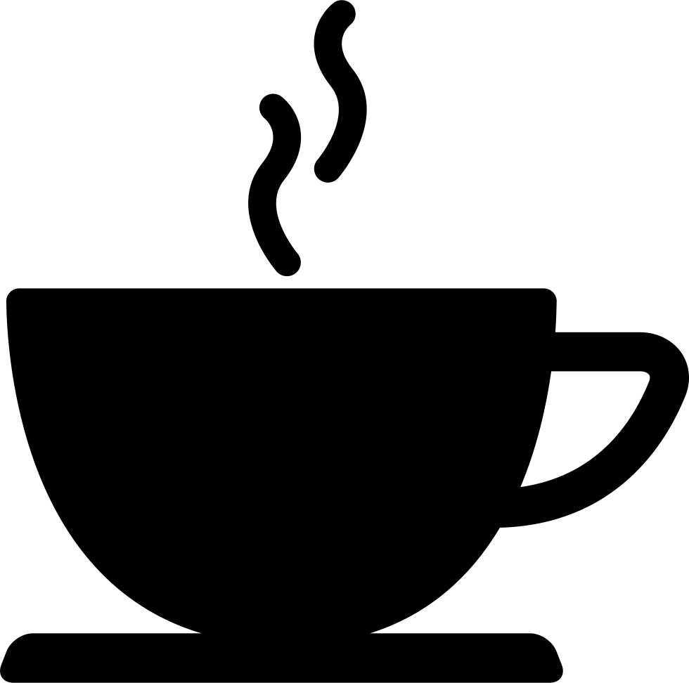 clip royalty free Coffee Cup Of Hot Drink Black Silhouette Svg Png Icon Free Download
