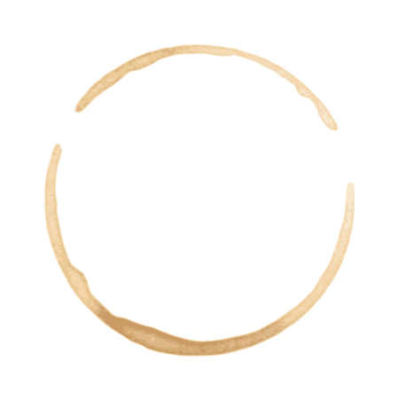banner freeuse library Vector coffee circle.  stain set eps