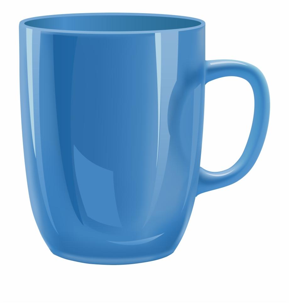 vector freeuse download Blue cup png mug. Mugs clipart transparent background