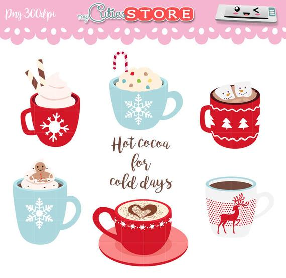 jpg free stock Hot cocoa and christmas. Mugs clipart winter.