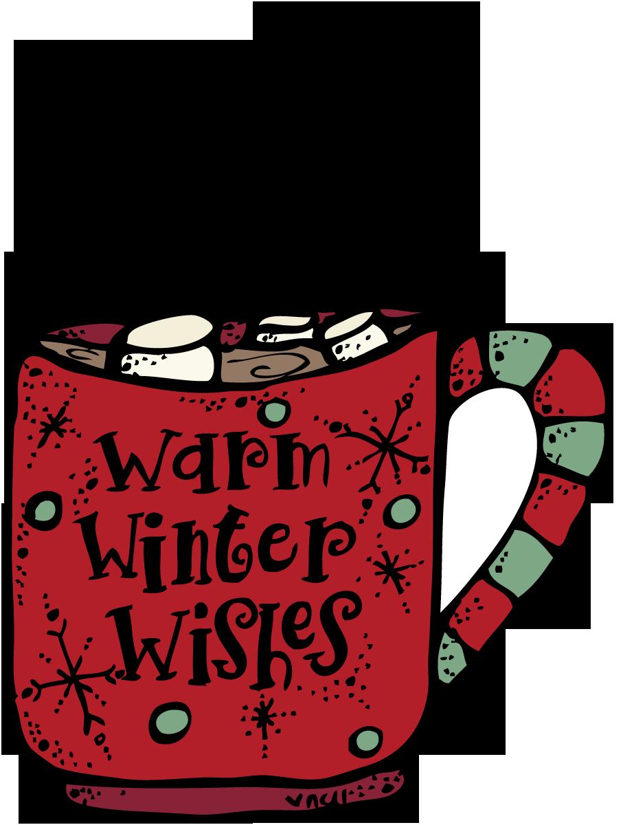 clip free stock Mug clipart winter