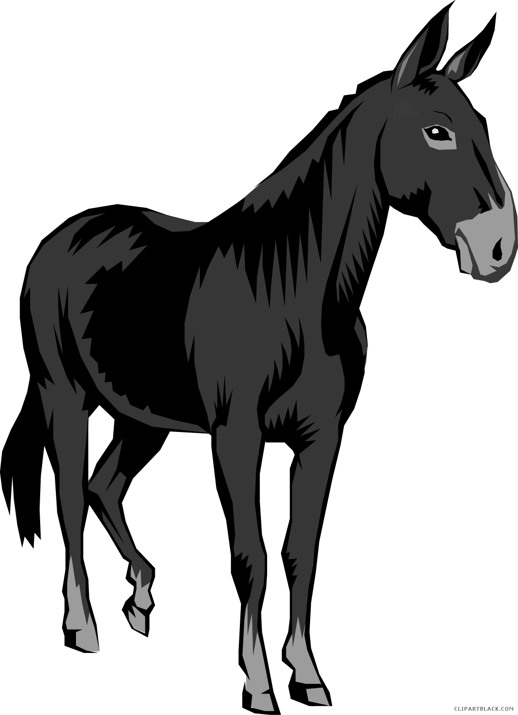 svg Mule clipart. Clipartblack com animal free.