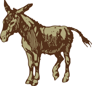 svg download Mule clipart. Donkey clip art at.