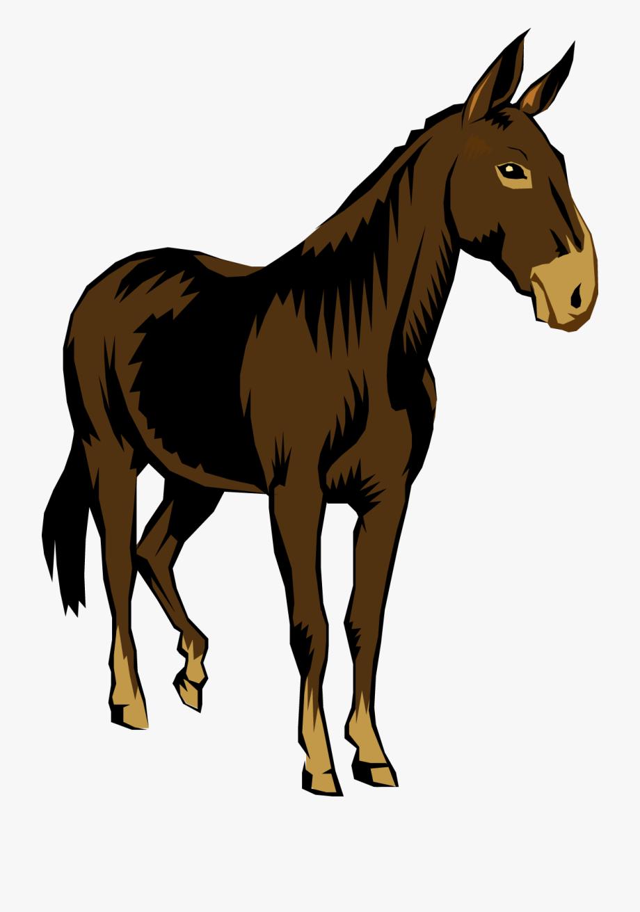 graphic black and white download Mule clipart brown. Stubborn cliparthut free owjvwj.