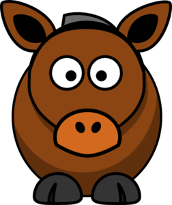 picture Cartoon free on dumielauxepices. Mule clipart brown.
