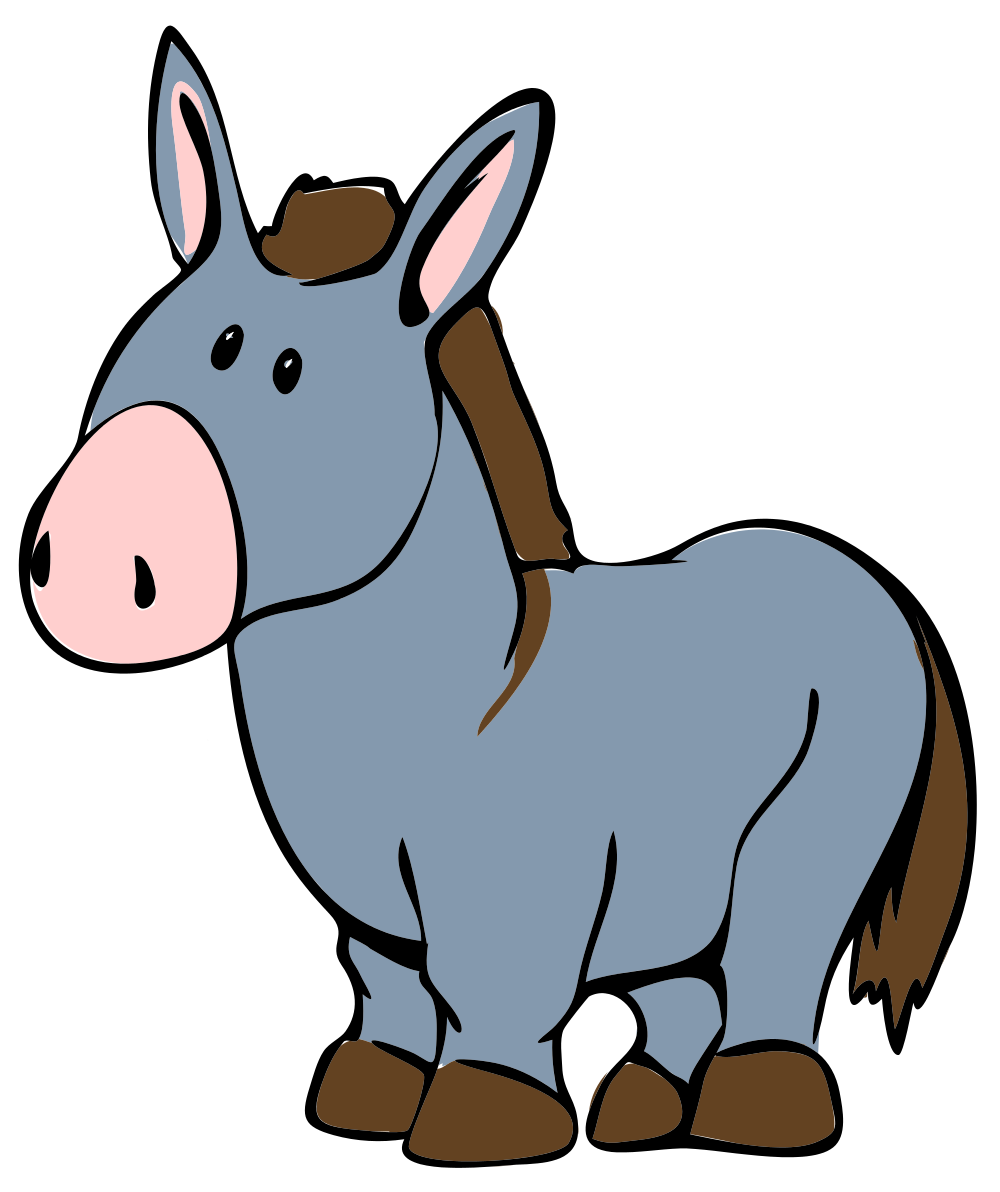 clip transparent Mule clipart face. Free donkey pictures illustrations.