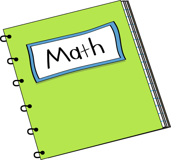 clip black and white stock Math notebook clip art. Multiplication clipart algebra.