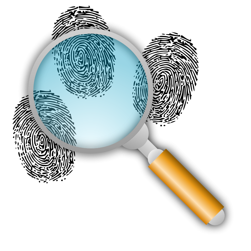 png free library Search For Fingerprints Clipart