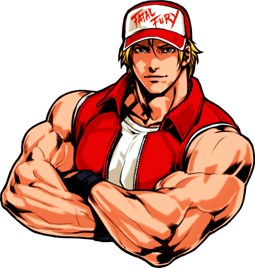 graphic freeuse library Terry bogard kof by. Muscle clipart absolute power.