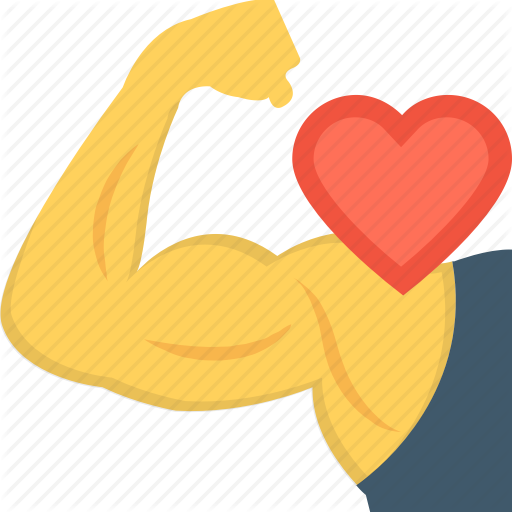 svg free library Fitness by vectors market. Muscle clipart heart muscle.