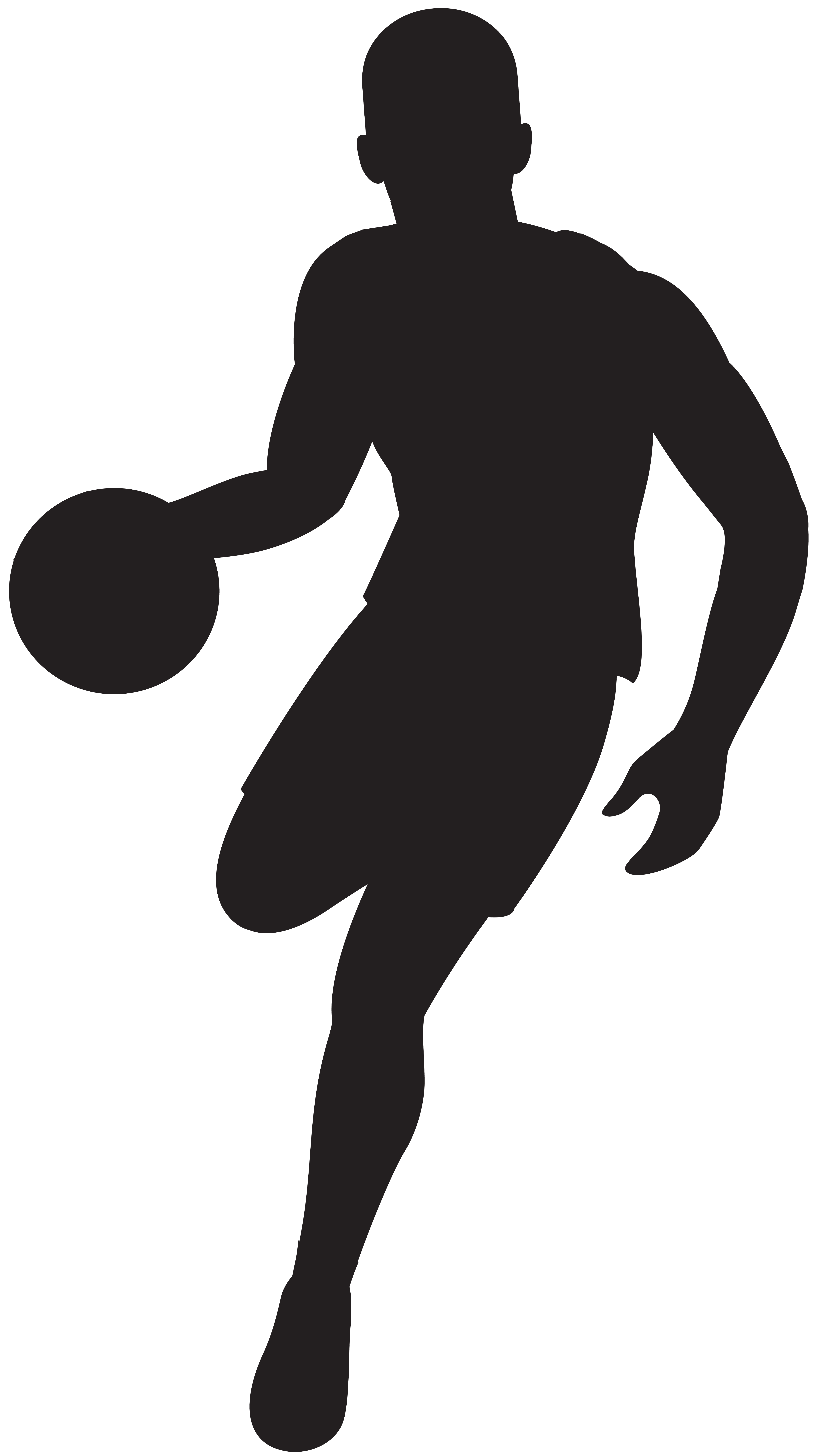 svg download Basketball player clip art. Muscle clipart silhouette.