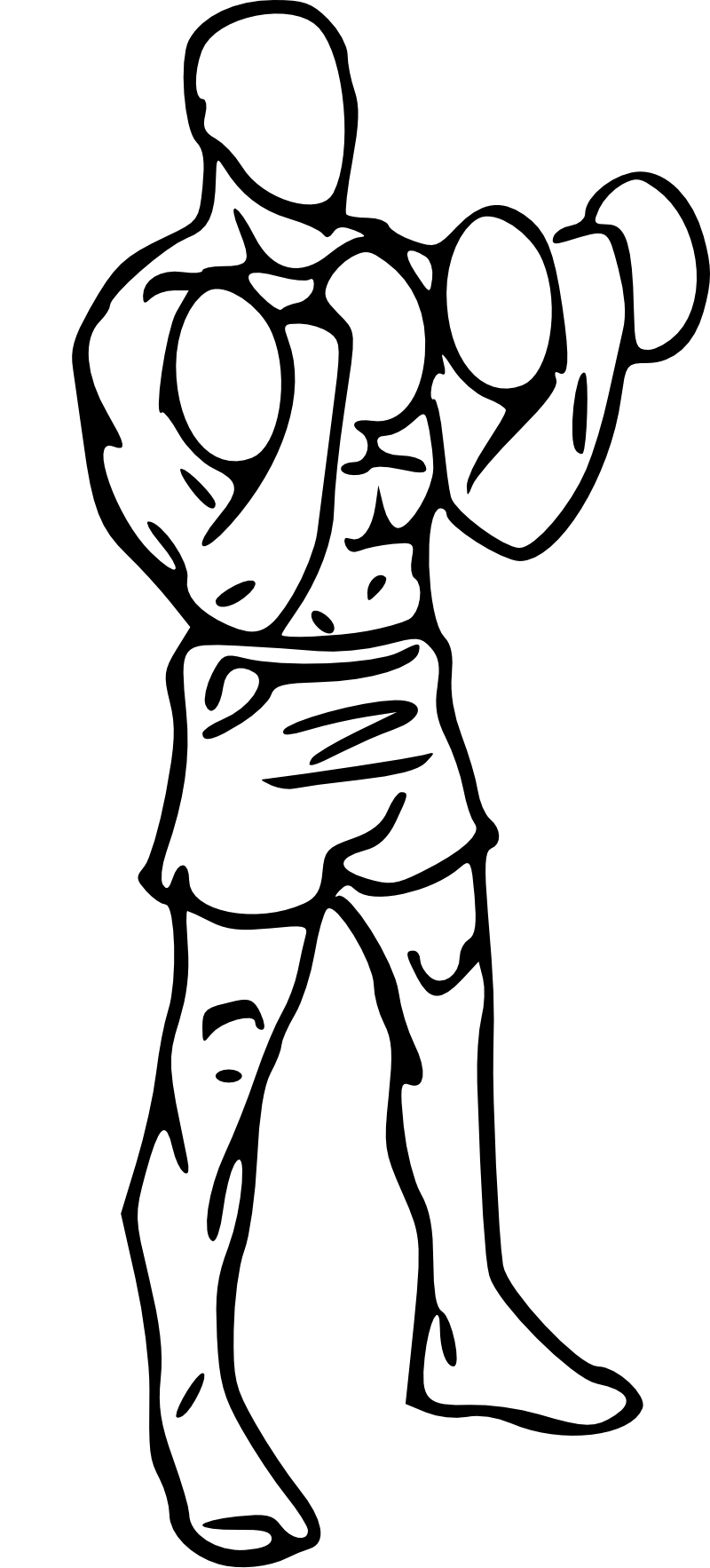 banner library Biceps at getdrawings com. Bicep drawing