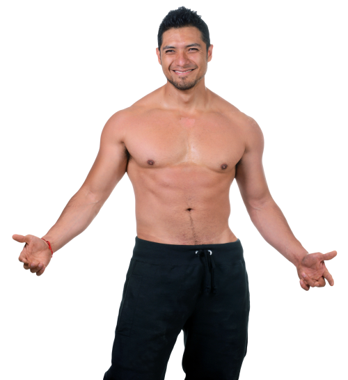 banner freeuse library Muscles clipart fit man. Fitness png transparent image.