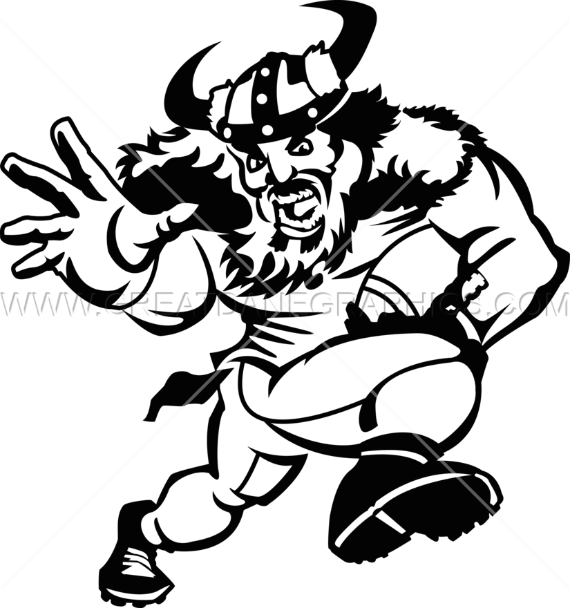 jpg royalty free Viking Football Player
