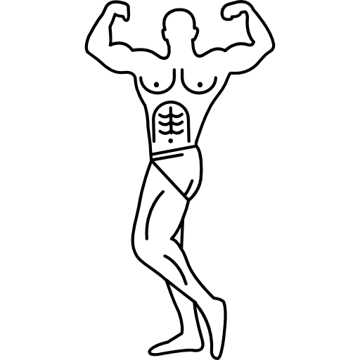 picture transparent download Muscular Man Drawing at GetDrawings