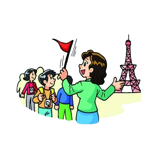 picture download Tour guide clip art. Museum clipart