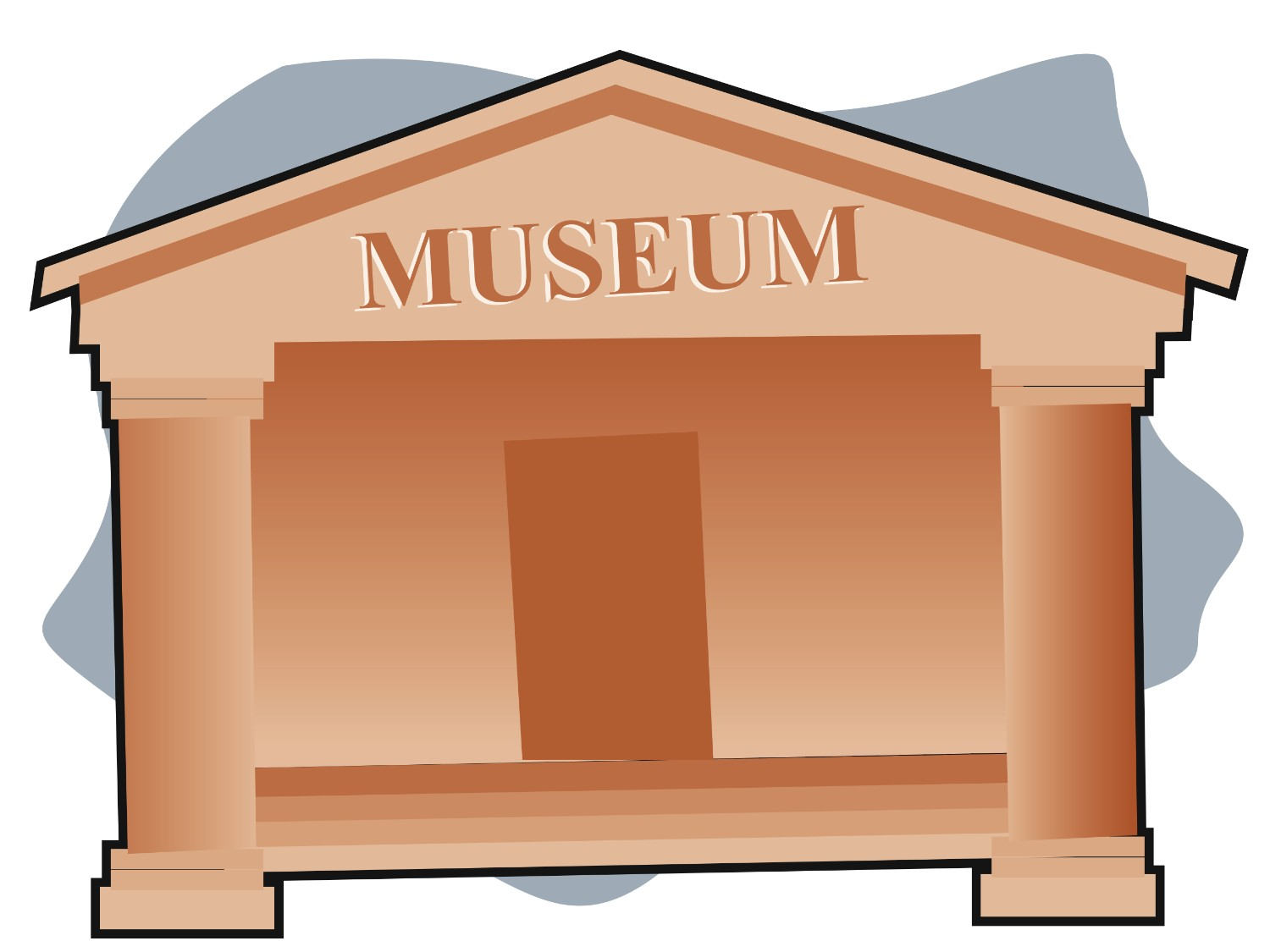 image royalty free Free cliparts download clip. Museum clipart