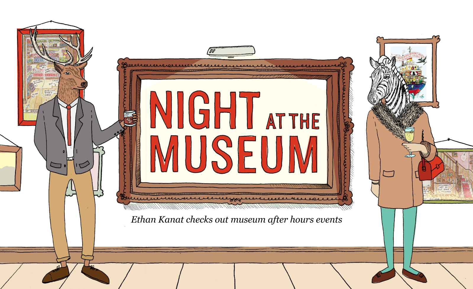 png stock Night at the bold. Art museum clipart