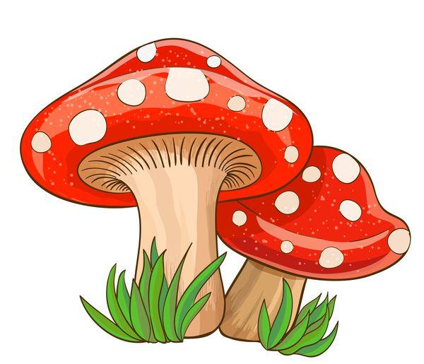 image free library Mushrooms clipart orange mushroom. Pin on .