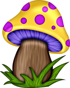 banner download Png mushrooms pinterest clip. Mushroom clipart.