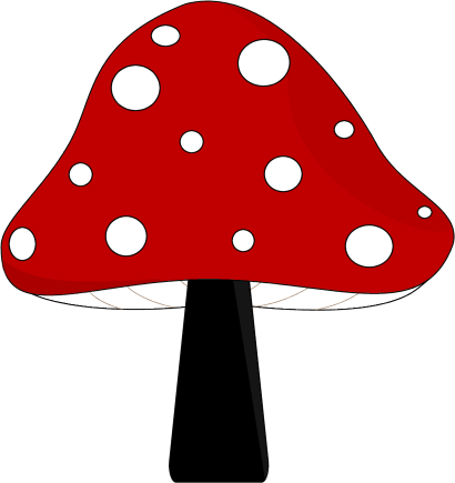 clip art library library Mushroom clipart. Clip art images red.